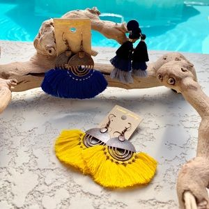 Jewelry - Set of 3 tassel Earings